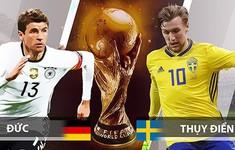 TRỰC TIẾP FIFA World Cup™ 2018: Đức – Thuỵ Điển (1h00 ngày 24/6 trên VTV6)