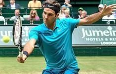 Federer thắng kịch tính tại tứ kết Halle mở rộng 2018