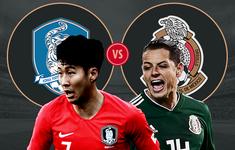 TRỰC TIẾP FIFA World Cup™ 2018: Hàn Quốc – Mexico