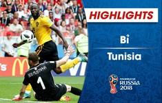 HIGHLIGHTS: ĐT Bỉ 5-2 ĐT Tunisia (Bảng G World Cup 2018)