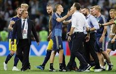Thua đau và bị khiêu khích, Thụy Điển lao vào choảng nhau với Đức