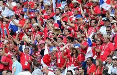 Phá lưới ĐT Anh, cầu thủ và CĐV Panama ăn mừng như thể vô địch FIFA World Cup™
