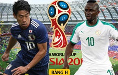 TRỰC TIẾP FIFA World Cup™ 2018: Nhật Bản - Senegal