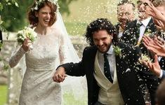 Đám cưới lãng mạn của cặp sao phim Game of Thrones