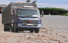 Xe chở gỗ dăm - Nỗi ám ảnh của người dân Quảng Ngãi