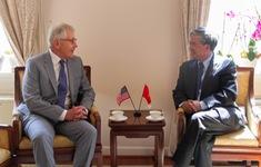 Đại sứ Phạm Quang Vinh gặp Hạ Nghị sỹ Mac Thornberry, tiếp cựu Bộ trưởng Quốc phòng Hoa Kỳ Chuck Hagel