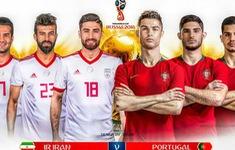 TRỰC TIẾP FIFA World Cup™ 2018: ĐT Bồ Đào Nha – ĐT Iran (01h00 ngày 26/6, VTV3)