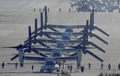 Biểu tình phản đối tái bố trí căn cứ quân sự Mỹ trên đảo Okinawa, Nhật Bản