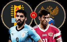 TRỰC TIẾP FIFA World Cup™ 2018: Uruguay - Nga (21h00, 25/06, Trực tiếp VTV6)