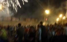 Tai nạn khi xem pháo hoa ở Nga