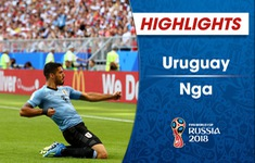 HIGHLIGHTS: Uruguay 3-0 Nga (Bảng A FIFA World Cup™ 2018)