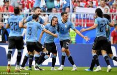KẾT QUẢ FIFA World Cup™ 2018: Thắng ấn tượng ĐT Nga, ĐT Uruguay giành ngôi nhất bảng A