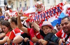 ĐT Croatia được chào đón như những người hùng tại quê nhà