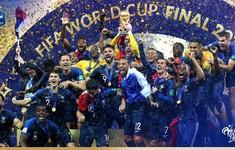 Chấm điểm Pháp 4-2 Croatia: Tam tấu Griezmann-Pogba-Mbappe giúp Les Bleus đăng quang FIFA World Cup™ 2018
