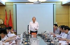 Phó Thủ tướng Trương Hòa Bình kiểm tra việc thực hiện Nghị quyết TƯ 4 và Chỉ thị 05 tại Bộ TN&MT