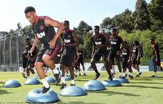 Sao Man Utd hì hục tập luyện ở California trước thềm mùa giải mới