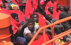 Số người di cư tới Tây Ban Nha tăng mạnh