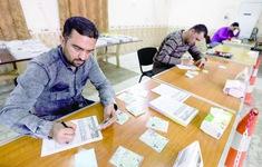 Iraq hoàn tất việc kiểm lại phiếu bầu cử ở tỉnh Nineveh