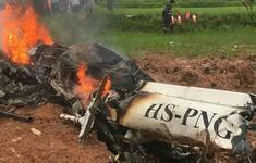 Rơi trực thăng ở Thái Lan, 4 người thiệt mạng