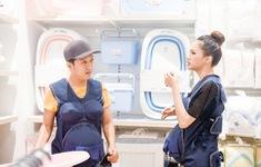 Khi đàn ông mang bầu: Trường Giang, Hương Giang gây lộn trong siêu thị vì... ghế tắm