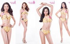 Thí sinh Hoa hậu Việt Nam diện bikini nóng bỏng trước đêm Chung khảo