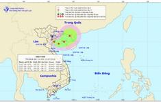 Vùng áp thấp mạnh lên thành áp thấp nhiệt đới trên Vịnh Bắc Bộ