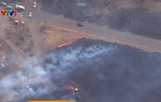 Cháy rừng tiếp tục lan rộng mạnh mẽ ở California