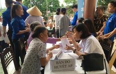 Khám bệnh, phát thuốc miễn phí cho 500 người dân tại Hà Tĩnh