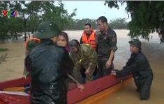 Quân khu 2 giúp dân khắc phục hậu quả mưa lũ