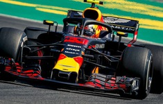 Đua xe F1: Max Verstappen đạt thành tích tốt nhất ở buổi đua thử GP Đức