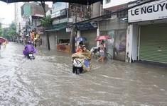 Ngày mai (22/7), nhiều tuyến phố tại Hà Nội có nguy cơ ngập úng trở lại