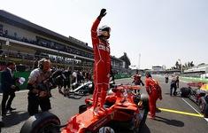 Sebastian Vettel giành Pole tại GP Đức