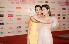 Dàn Hoa hậu, Á hậu các năm đọ sắc trên thảm đỏ CKPB Hoa hậu Việt Nam 2018