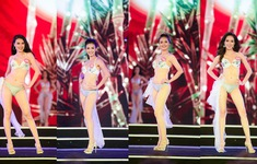 VIDEO màn trình diễn bikini nóng bỏng của thí sinh Hoa hậu Việt Nam 2018