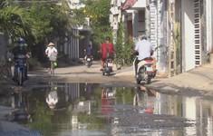 Nha Trang: Người dân bức xúc vì đường cây Sung luôn ngập nước