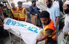 Đánh bom trước thềm tổng tuyển cử Pakistan