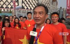 Phóng viên Thể Thao VTV tác nghiệp tại ASIAD 2018: Đại sứ quán Việt Nam và kế hoạch cổ vũ ĐT Olympic