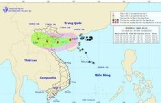 Bão số 4 cách Móng Cái (Quảng Ninh) 210km, giật cấp 11