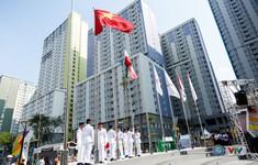 Quốc kỳ Việt Nam tung bay tại ASIAD 2018