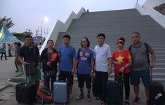 Phóng viên thể thao VTV tác nghiệp tại ASIAD 2018: Niềm vui của bố mẹ các cầu thủ ĐT Olympic Việt Nam tại Indonesia