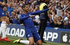 TRỰC TIẾP NGOẠI HẠNG ANH, Chelsea 2-0 Arsenal: Morata gia tăng cách biệt