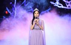 Hoa hậu Việt Nam Thiên Nga hát nhạc Trịnh chất chứa nỗi buồn
