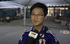 Phóng viên Thể Thao VTV tác nghiệp tại ASIAD 2018: CĐV Nhật Bản chia sẻ về trận đấu gặp Olympic Việt Nam