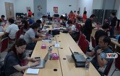 Phóng viên Thể Thao VTV tác nghiệp tại ASIAD 2018: Phóng viên Nhật Bản chia sẻ về trận đấu với ĐT Olympic Việt Nam