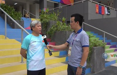 Phóng viên Thể Thao VTV tác nghiệp tại ASIAD 2018: Chia sẻ của HLV Trương Tuấn Hiền - ĐT Thể dục dụng cụ Việt Nam