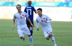 ẢNH: Thắng tối thiểu Olympic Nhật Bản, Olympic Việt Nam nhất bảng D bóng đá nam ASIAD 2018