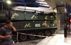 Ukraine: Xe chở tên lửa đâm trực diện vào trung tâm thương mại ở Kiev