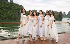 Thí sinh Hoa hậu Việt Nam 2018 thả dáng giữa biển trời Hạ Long
