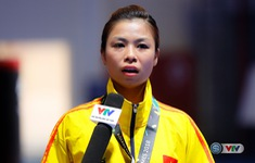 """HCĐ wushu ASIAD 2018 Hoàng Thị Phương Giang: """"Tôi đã cố gắng và thấy hài lòng"""""""