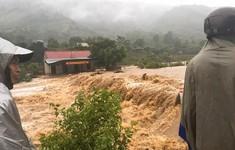 120 hộ dân ở Nghệ An khổ sở vì nước lũ tiếp tục dâng